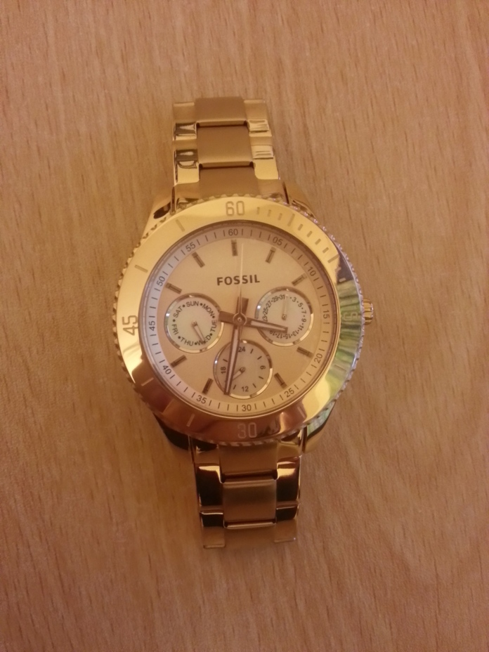 fossil stella rose gold multifunction watch a peek inside my wardrobe. Black Bedroom Furniture Sets. Home Design Ideas
